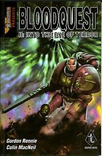 Warhammer Bloodquest Book 2 Into The Eyes of Terror Trade Paperback TPB GN NM