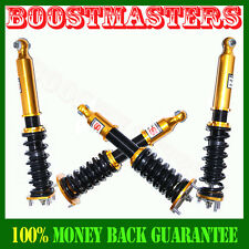 For 2001-2005 Coilover Suspension Kits NON-ADJ DAMPER Gold JDM rs20 Lexus IS300