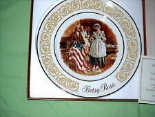 1973 Avon Betsy Ross plate by Enoch Wedgewood