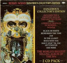 MICHAEL JACKSON RARE 1991 Australian DANGEROUS COLLECTOR'S EDITION BONUS 2 CD