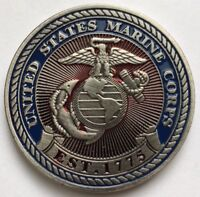 NEW USMC Pocket Coin Oversize Golf Ball Marker Incredible Quality