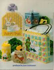 Plastic Canvas Nursery Easter Bunny Tissue Wipes Cover Music Sign Tote Patterns