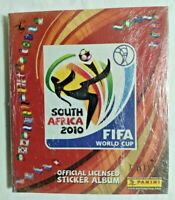 ALBUM FIFA WORLD CUP SOUTH AFRICA 2010+SET COMPLETO FIGURINE EX SIGILLATO PANINI