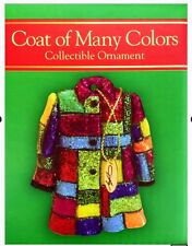 NIB Dolly Parton Coat of Many Colors Christmas Ornament Rare Dollywood Exclusive