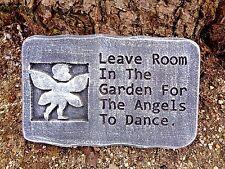 "Angels Dance mold concrete plaster mould 11.75"" x 7.5"" x 1.20"" Thick"