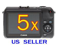 5x Clear LCD Screen Protector Guard Shield Film For Canon EOS M2 / EOS M Camera