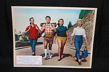 It Happened in Rome Lobby Card - Italian Film - Hitchhikers (C-8) 1957