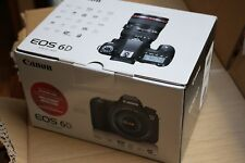 BNIB Canon EOS 6D 20.2 MP Digital SLR Camera Black with all accessories, no lens