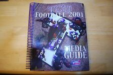 2001 TCU Horned Frogs Football Media Guide