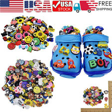 Lot of 50 100 200pc Random PVC Shoe Charms fit for shoes with holes and Bracelet