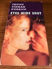 Eyes Wide Shut Vhs Vcr Video Tape Movie Nicole Kidman Tom Cruise Used