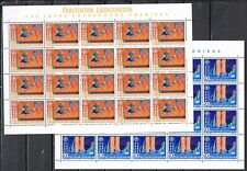 Europa CEPT 1992 vellen Liechtenstein 1033-1034 Cat waarde € 60