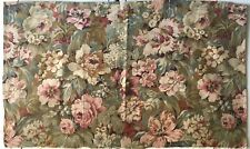 Beautiful Rare 19th C. French Cotton Packed Floral Fabric  (2782)