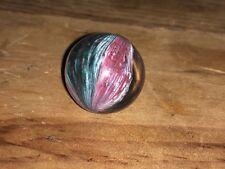 "Early Antique German Shrunken Multi Color Onion Skin Mica 13/16"" inch Wet Mint"