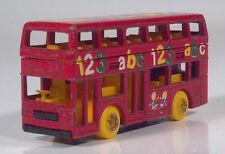 "Matchbox Leyland Titan Double Decker Bus 3"" Scale Model Preschool ABC 123"