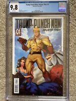 Trump Punch Man: Delete This! #1 CGC 9.8