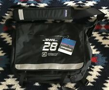 NWT PATAGONIA® DHL, Andretti, Computer Laptop Black HALF MASS MESSENGER Bag
