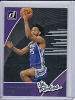 2018-19 Donruss The Rookies #2 Marvin Bagley III Sacramento Kings