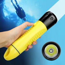 20000LM XM-L2 LED Scuba Diving Flashlight Hunting Torch Lamp Built in Battery