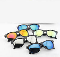 Kids Wayfare Sunglasses Children Boys Girls Classic Vintage Retro Shades UV400