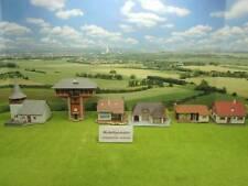 Vollmer etc H0 6x diverse Gebäude Wohnhäuser etc (GF) C0541