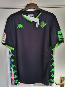 Real Betis away football shirt 2019/2020 mens Large BNWT