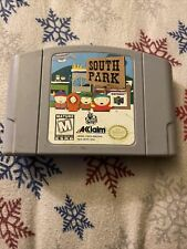 South Park (Nintendo 64, 1998) Tested-Authentic-N64