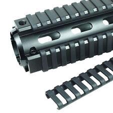 4x Schwarz 17 Slot Ladder Rail Cover Handschutz Picatinny Hitzebeständiges Tool