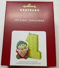 Hallmark 2021 My First Christmas Ornament New with Box