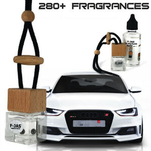 Car Perfume Hanging Mirror Freshener Bottle & Refill for AUDI A3, A4, S3, S4
