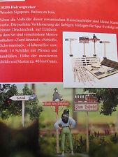 Busch Teile und Zübehör für Spur 0 Modelleisenbahn