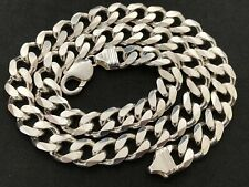 Men's Sterling Silver Curb Chain. Excellent Condition