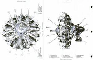 Pratt & Whitney R-985 Wasp Junior service instruction maintenance manual engine