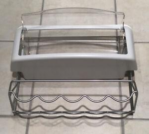 GE Profile Arctica Fridge Butter Tray Shelf Bottle Rack