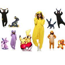 Adult-Pokemon-Unisex Pajamas Kigurumi Cosplay Costume Animal Sleepwear+++