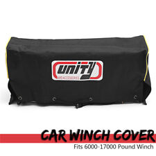 Oxford+PVC Car Electric Winch Cover Waterproof For 6000-17000 Pounds 17x26x56cm