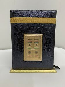 Quranic Gift Black With Kaba Quran Colour Coded 16 Line