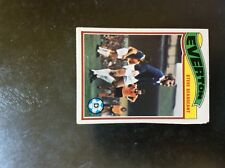 b1t trade card topps 1978 orange back football no 322 steve seargeant everton