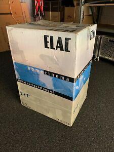 ELAC Home Cinema XL Set silver digital surround sound 5+1 active subwoofer 101