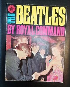 The Beatles By Royal Command Original Genuine 1963 Souvenir Booklet/Magazine