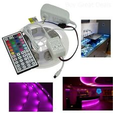 Flexible Super Bright LED RV Awning Rope Light Decor Remote Controller 16.4 Feet