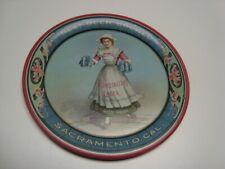 Circa 1910 Ruhstaller Lager Tip Tray, Sacramento, Ca – Free Shipping
