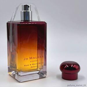 Jo Malone Rose & White Musk Absolu Eau de Cologne 3.4 fl oz / 100 ml New Sealed