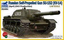 BRONCO ZB48004 1/48 Russian Self-Propelled Gun SU-152 (KV-14)