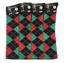 3 Pairs Ladies Over Knee high Argyle Design Horse riding Socks Christmas Gift