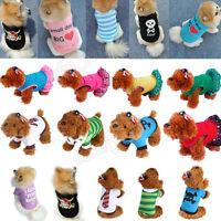 Chien chat T-Shirt vêtements veste vêtements pour animaux de compagnie Costume
