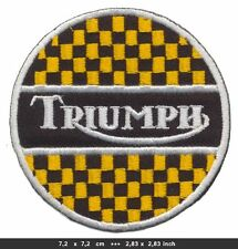 TRIUMPH Aufnäher Patches Motorrad Biker England Tiger Thruxton BLITZVERSAND