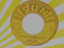 "JOHNNY CASH -The Ways Of A Woman In Love- 7"" 45"