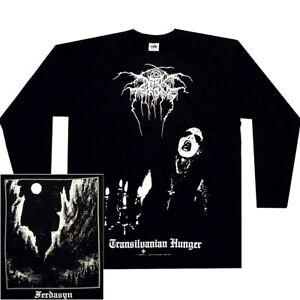 Darkthrone Transilvanian Hunger Long Sleeve Shirt S-XXL Officl Dark Throne