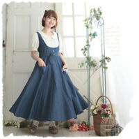 Sweet Lolita Artistic Small Fresh Doll Collar Short Sleeve Dress Mori Girl#KT233
